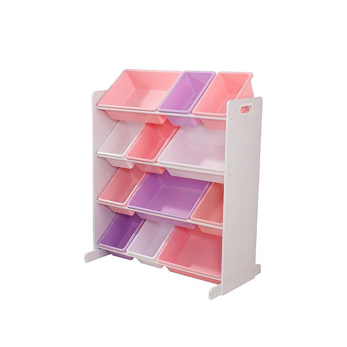 Система для хранения KidKraft, с 12 контейнерами, цвет белый