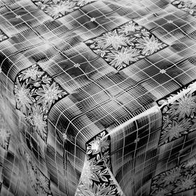 Скатерть без основы многоразовая «Ажурная», 110×132 см, цвет МИКС