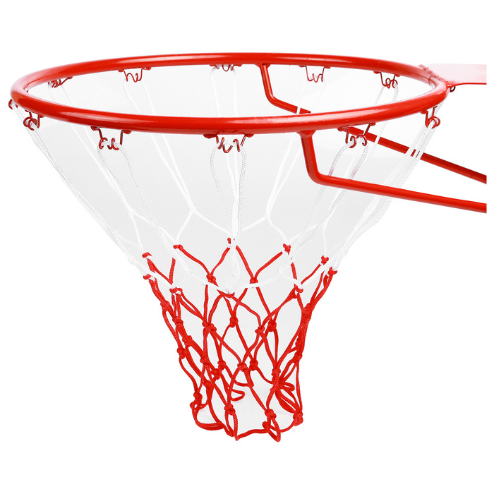 Сетка баскетбольная, 50 см, нить 3 мм, двухцветная