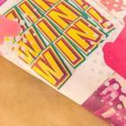 Бумага упаковочная крафтовая «Полароид», 50 × 70 см