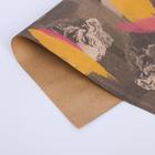 Бумага упаковочная крафтовая «Скульптуры», 50 × 70 см