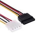 Кабель-переходник питания Cablexpert CC-SATA-PS, Molex(4pin)(m)-SATA(15pin)(f), 0.15 м