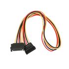 Кабель-удлинитель питания Cablexpert CC-SATAMF-02, SATA(15pin)(m)-SATA(15pin)(f), 0.5 м