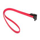 Кабель интерфейсный Gembird CC-SATA-DATA90, SATA(f)-SATA(f), угловой, 0.5 м, красный