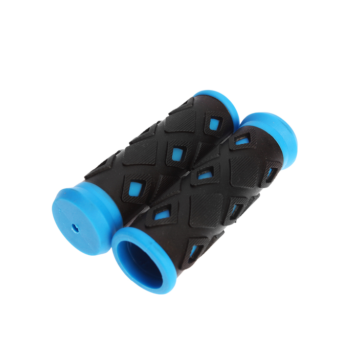 Грипсы ХD-113B, 95мм, черно-синие