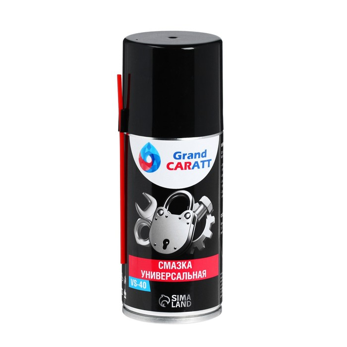 Универсальная смазка Grand Caratt VS-40 , 210 мл, аэрозоль