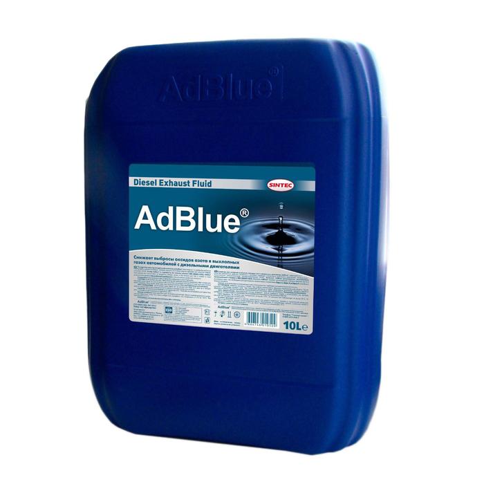 Жидкость AdBlue для системы SCR дизельных двигателей, мочевина 10 л