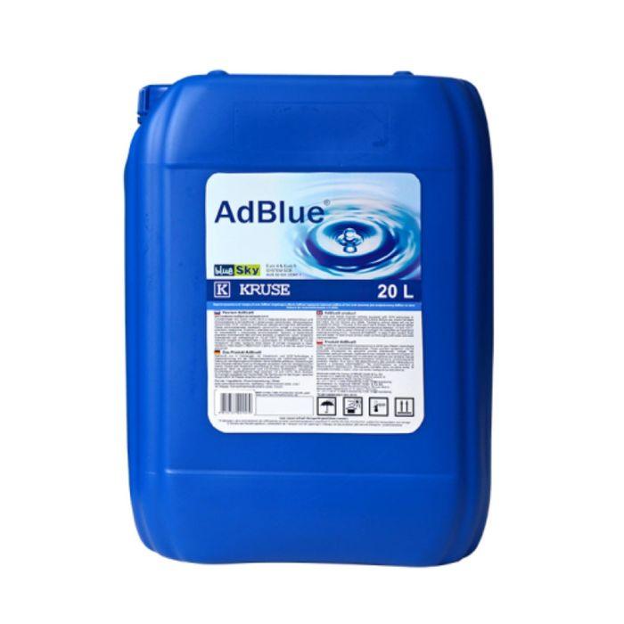 Жидкость AdBlue для системы SCR дизельных двигателей, мочевина 20 л