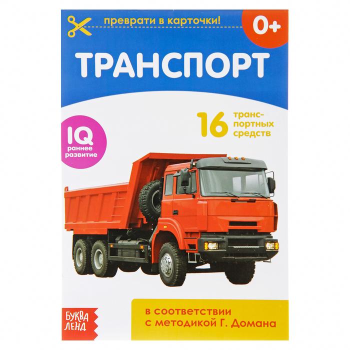 Обучающая книжка по методике Г. Домана «Транспорт»