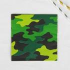 "Napkins ""Camouflage"", 25x25 cm (set of 12 PCs) 1502-1986"