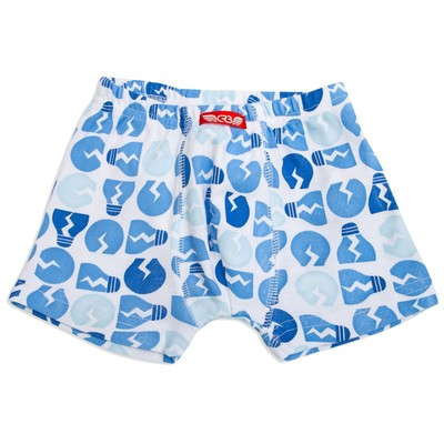 Трусы-боксеры для мальчика, рост 98-104 см, цвет голубой CAK 1359