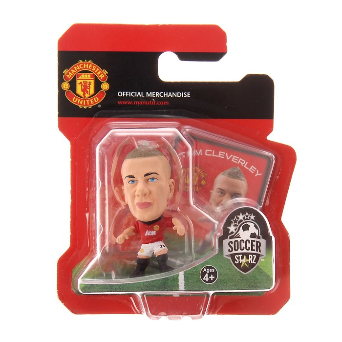 Фигурка футболиста Soccerstarz - Man Utd Tom Cleverley - Home Kit