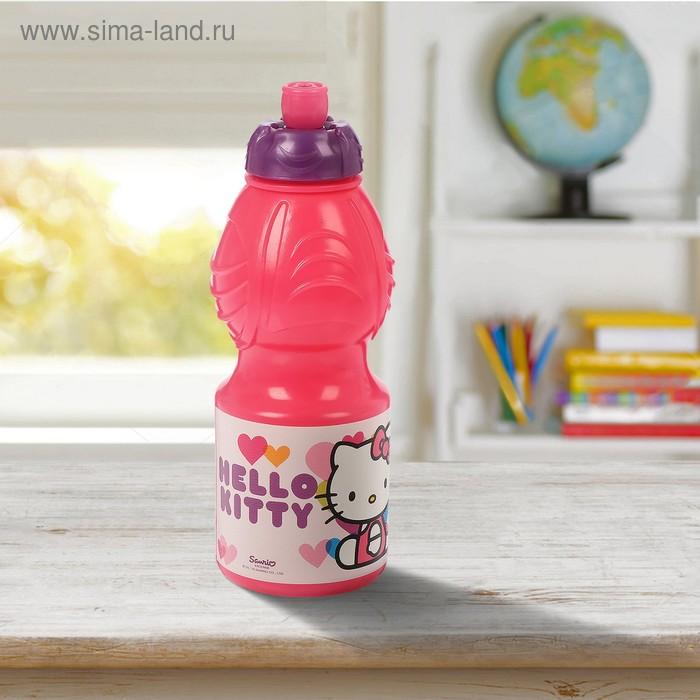 "Бутылка 400 мл ""Hello Kitty. Сердечки"", фигурная"