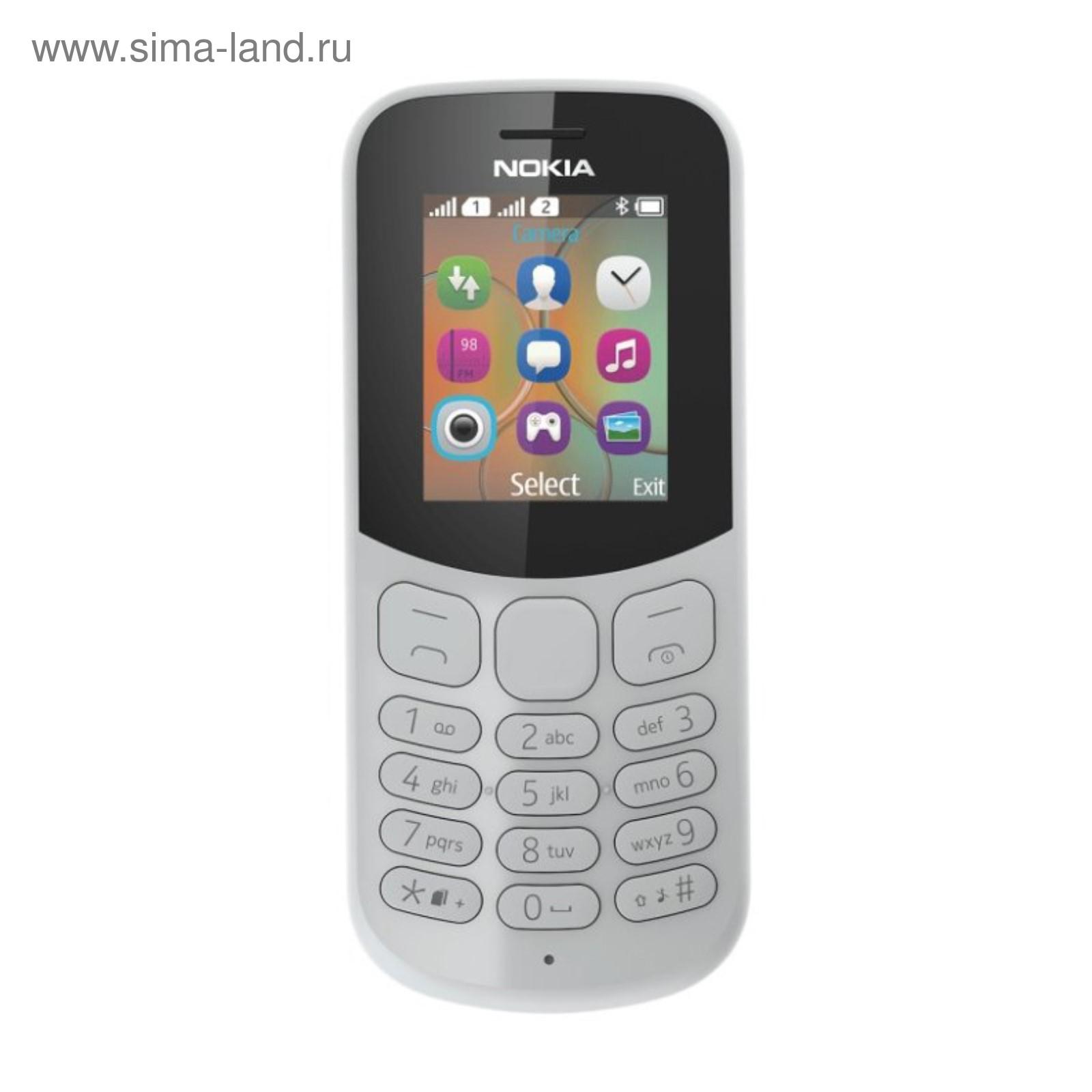 30dc1bcbab6 Сотовый телефон Nokia 130 DS Grey TA-1017 (3267121) - Купить по цене ...