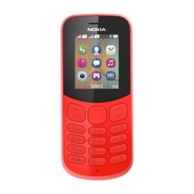 """Сотовый телефон Nokia 130, 1.8"""", 2 sim, 1020 мАч, красный 3267121"""