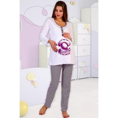 Комплект для беременных (джемпер, брюки) 1670 цвет МИКС, р-р 48
