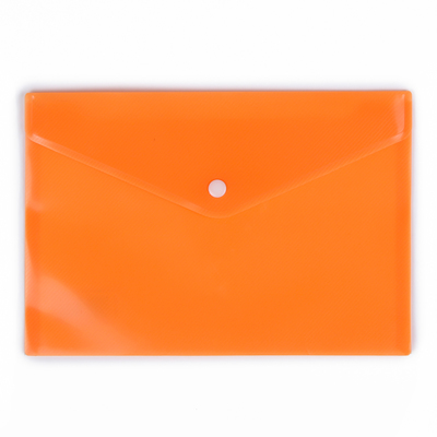Папка-конверт на кнопке, формат А5, 180 мкр, рефлённая, МИКС