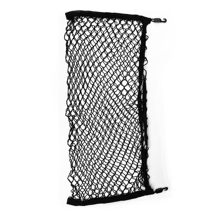 Сетка багажная 45х90 см, 2 пластиковых крючка, 2 крючка-самореза