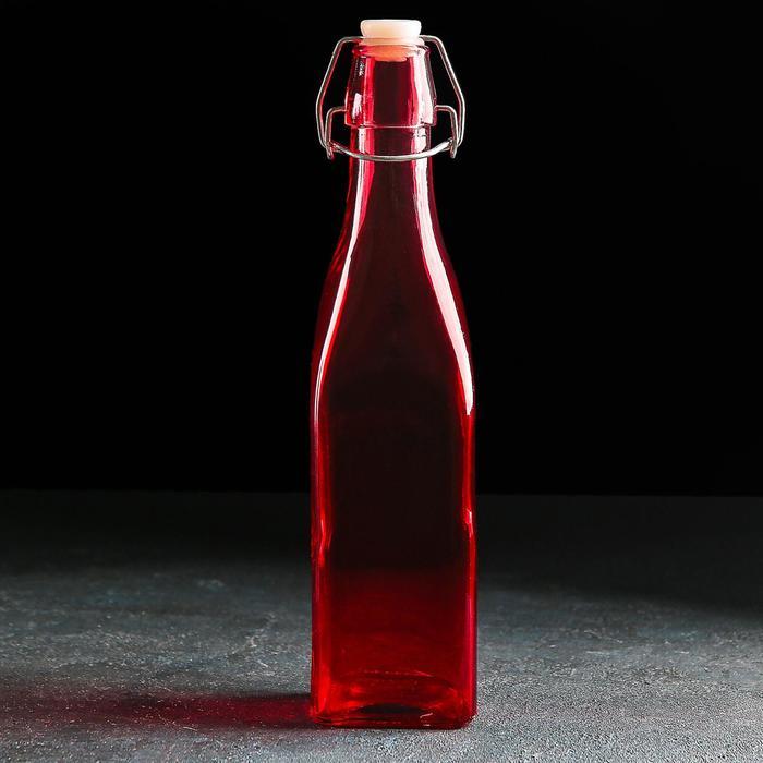 "Бутыль для масла 550 мл ""Галерея"", цвета МИКС"