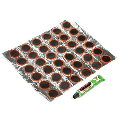 Резиновые заплатки для ремонта шин, набор 36 шт.