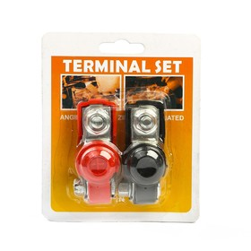 The terminals of the battery, closed, set of 2 PCs.