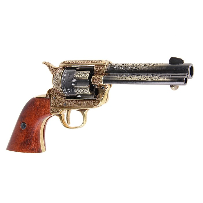 The model of the Colt revolver, 45 mm, 1886,