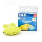 Соковыжималка для выдавливания сока лимона, силикон, 8,5*7,5 см