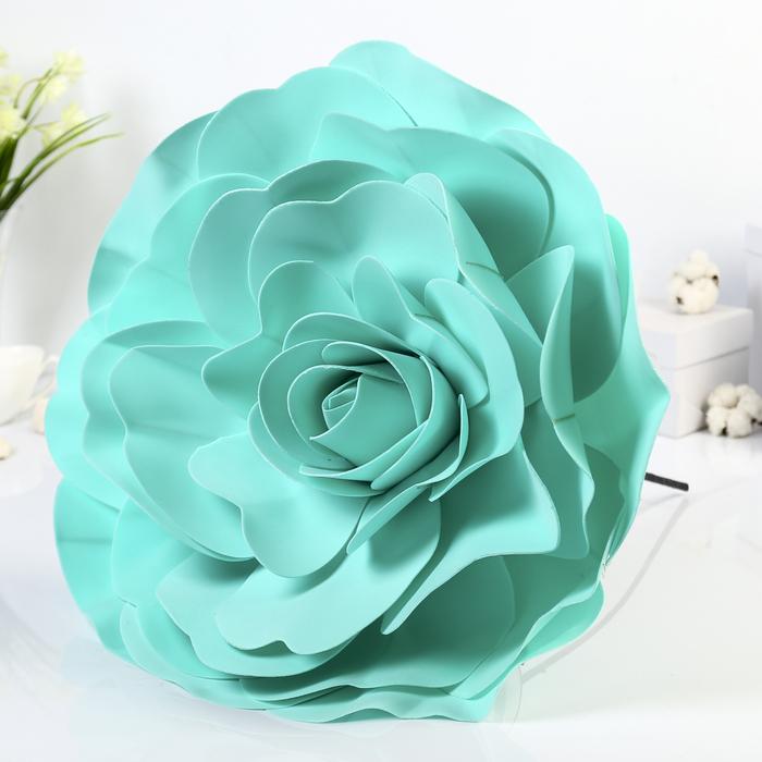 """Цветы для фотосессий """"Роза"""", мятные"""