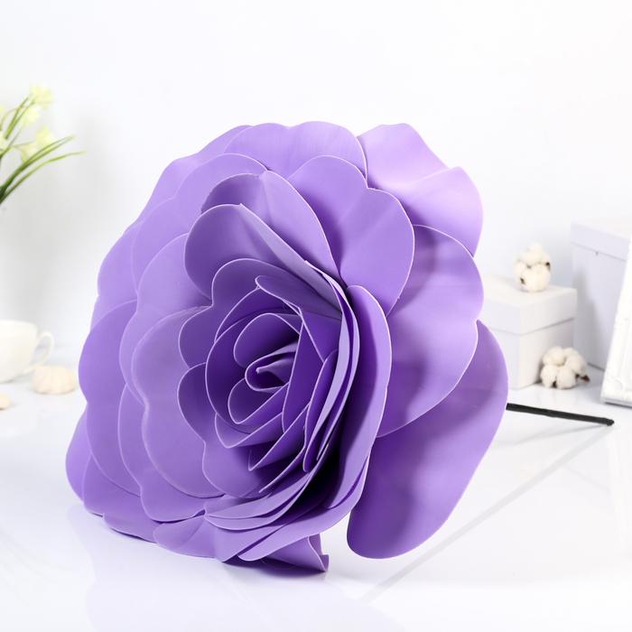 """Цветы для фотосессий """"Роза"""", сиреневые"""