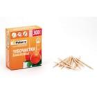 Зубочистки бамбук, 300шт в картонной упаковке