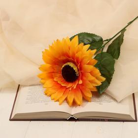 Цветы искусственные 'Подсолнух' объём, 13*57 см Ош