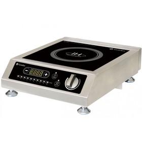 Плита Gemlux GL-IC3510PRO, индукционная, 3500 Вт, 10 уровней мощности, таймер, ЖК-дисплей