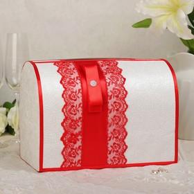 Коробка для денег «Аля», красная, неразборная
