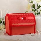 Коробка для денег №2 красная, разборная