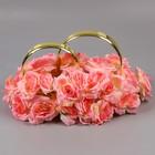 Кольца на а/м малые, чайная роза