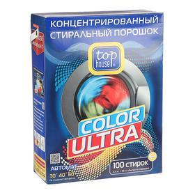 Стиральный порошок Top House Color Ultra, концентрат, автомат, 4,5 кг