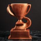 Кубок керамический, спортивный, бронза, матовый