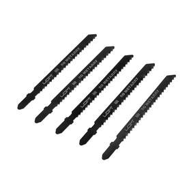 Пилки для лобзика LOM, HSS, по металлу, 5 шт. 75/100 х 3 мм, T227C Ош