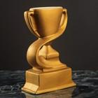 Кубок керамический, спортивный, золотой, матовый