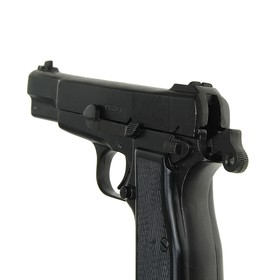 Model of a Browning pistol, 9 mm, Belgium, 1935, High Power.