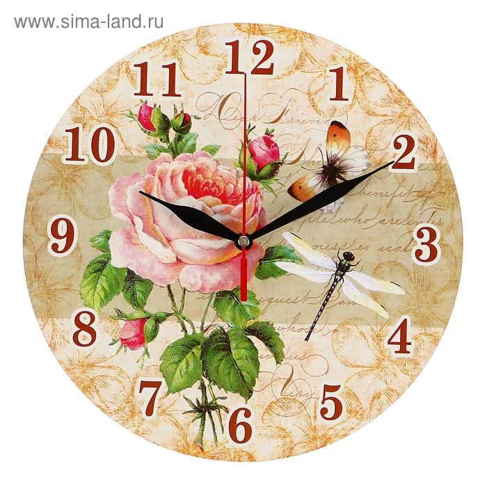 """Часы-винтаж """"Роза"""""""