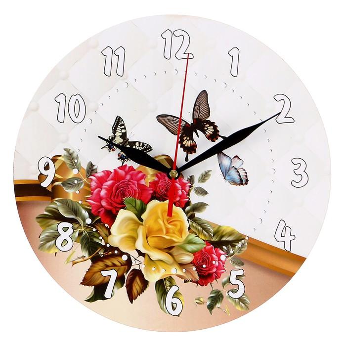 """Часы-винтаж """"Бабочки"""""""