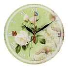 """Часы-винтаж """"Белые розы"""""""