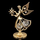 Сувенир «Ангел», 7,5×5×3 см, с кристаллами Сваровски