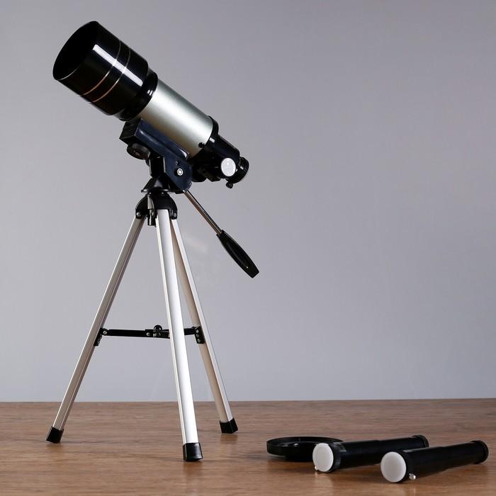 """Телескоп настольный F30070M """"Наблюдатель"""", 2 линзы"""