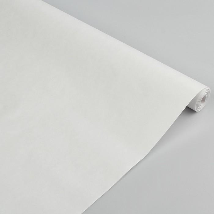 Бумага упаковочная крафт белый, 0,5 х 10 м