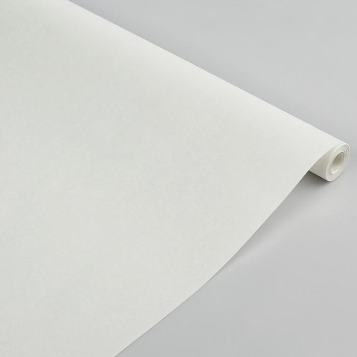 """Пергамент флористический """"Белый"""", 0,5 х 10 м - фото 797922457"""