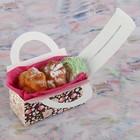 """Коробка для сладостей """"Белые хризантемы"""", 12 х 5.5 х 5.5 см - фото 308034754"""