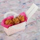"""Коробка для сладостей """"Птицы и розы"""", 12 х 5.5 х 5.5 см - фото 308034762"""