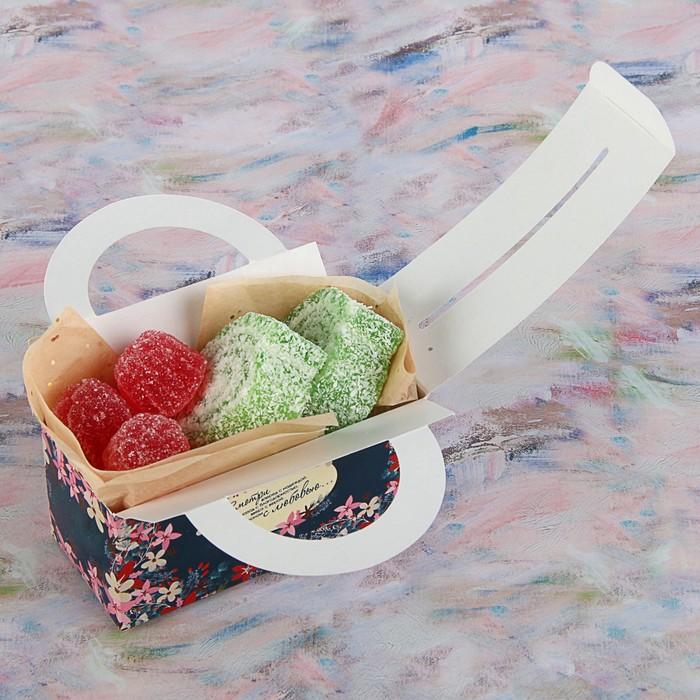 """Коробка для сладостей """"Смотри вперед"""", 12 х 5.5 х 5.5 см - фото 308034804"""